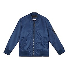 bluezoo - Boys' blue bomber jacket
