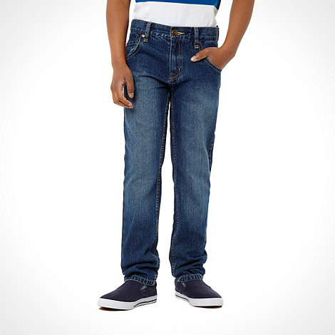 bluezoo - Boy+s blue skinny fit jeans