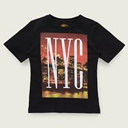 Boy's black 'NYC' t-shirt