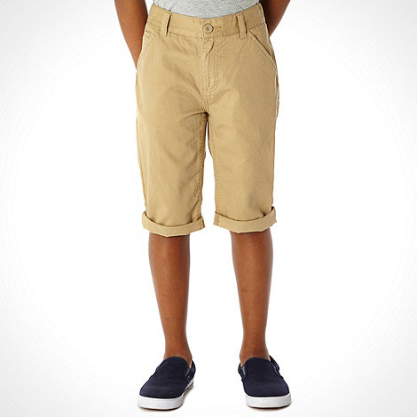 bluezoo - Boy+s natural chino shorts