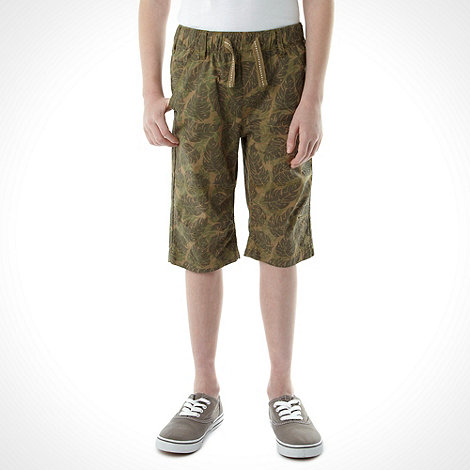bluezoo - Boy+s pack of two multi plan and printed shorts