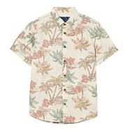 Boy's natural hawaiian shirt