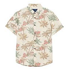 bluezoo - Boy's natural hawaiian shirt