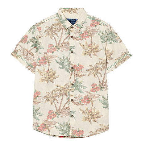 bluezoo - Boy+s natural hawaiian shirt