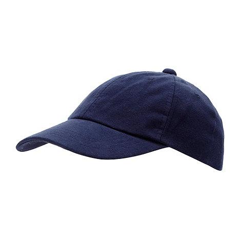 bluezoo - Boy+s blue plain baseball cap