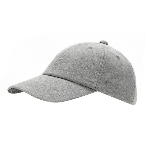 bluezoo - Boy+s grey plain baseball cap