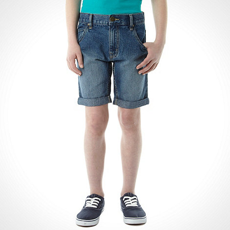 bluezoo - Boy's light blue denim shorts