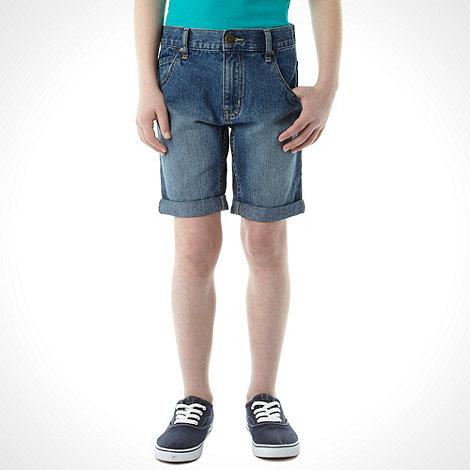 bluezoo - Boy+s light blue denim shorts