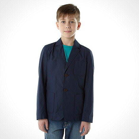 bluezoo - Boy+s navy casual blazer