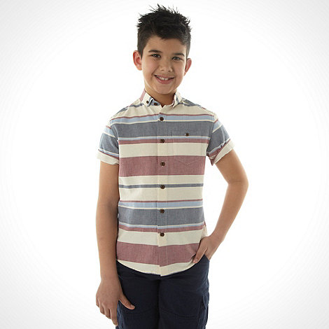 bluezoo - Boy+s multi striped shirt