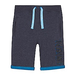 Animal - Boys' navy jersey shorts
