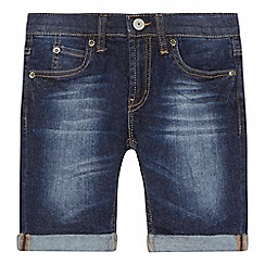 Levi's - Boys' dark blue denim shorts