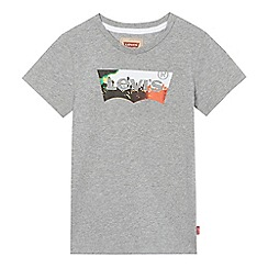 Levi's - Boys' grey logo print t-shirt