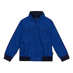 Levi's - Boys' blue zip through jacket