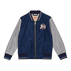 Levi's - Boys' navy zip through jacket