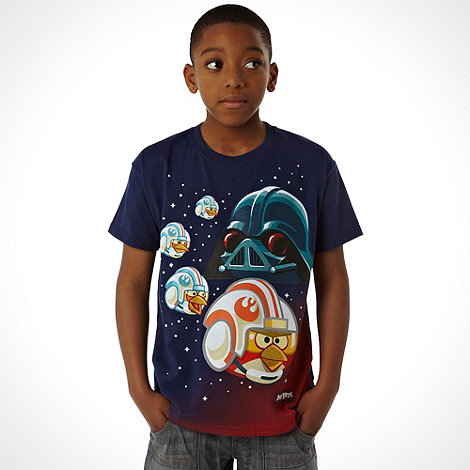 Angry Birds Star Wars - Boy+s navy +Angry Birds Star Wars+ t-shirt