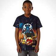Boy's navy character 'Angry Birds Star Wars' t-shirt