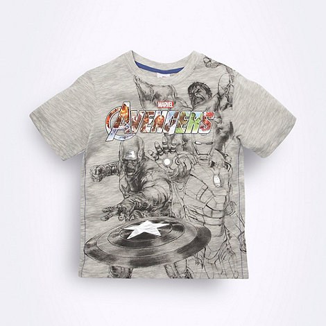 The Avengers - Boys grey Avengers T-shirt