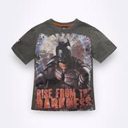 Boys brown Batman T-shirt