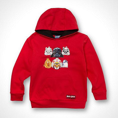 Angry Birds Star Wars - Boy+s red +Star Wars Angry Birds+ sweat hoodie