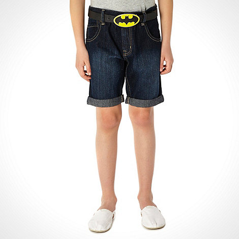 Batman - Boy+s black +Batman+ belt
