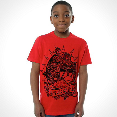 angry birds - Boys red +Angry Birds+ t-shirt