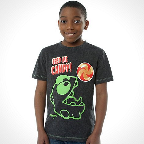 Cut the rope - Boys+ dark grey printed tee