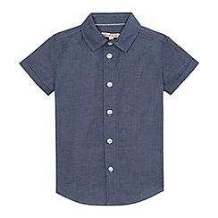 bluezoo - Boys' blue chambray shirt