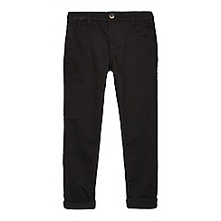 bluezoo - Boys' black super skinny chino trousers