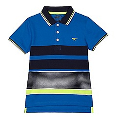 bluezoo - Boys' blue stripe polo shirt