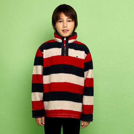 Mantaray - Boy+s multi striped fleece