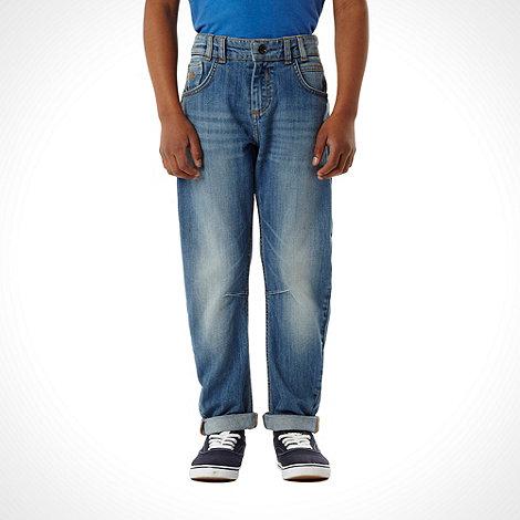 Mantaray - Girls+ blue washed skinny jeans