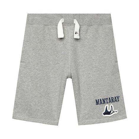 Mantaray - Boy+s grey jersey shorts