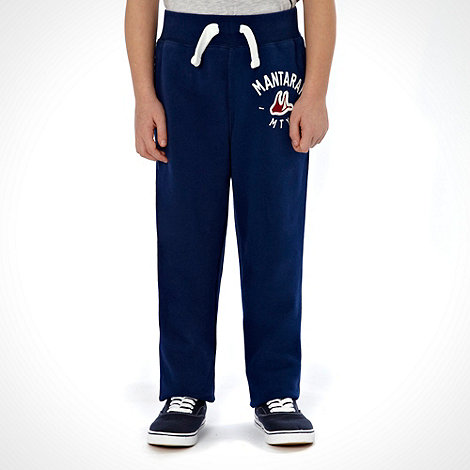 Mantaray - Boy+s navy skinny jogging bottoms