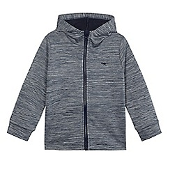 bluezoo - Boys' blue zip-through sweatshirt