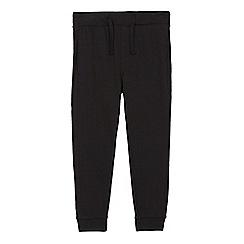 bluezoo - Boys' black cuffed jogging bottoms