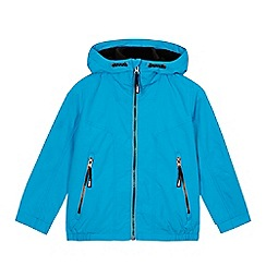 bluezoo - Boys' blue fleece lined jacket