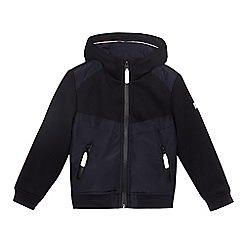 J by Jasper Conran - Boys' navy hooded jacket
