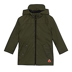 Mantaray - Boys' khaki hooded coat