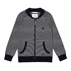 J by Jasper Conran - Boys' navy striped sweater