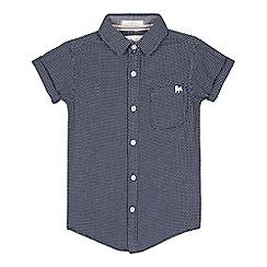 J by Jasper Conran - Boys' blue button down shirt