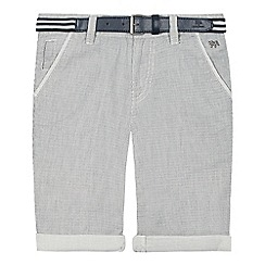 J by Jasper Conran - Boys' grey textured trousers