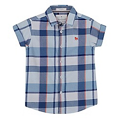 J by Jasper Conran - Boys' multi-coloured checked shirt