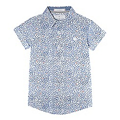 J by Jasper Conran - Boys' white fish print shirt