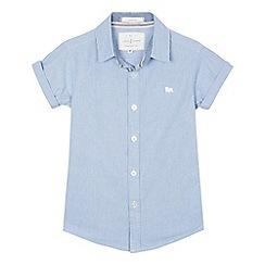 J by Jasper Conran - Boys' blue fine striped shirt
