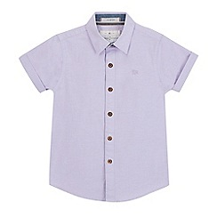 J by Jasper Conran - Boys' lilac stretch Oxford shirt