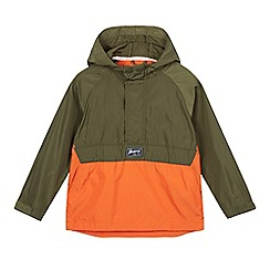 Mantaray - Boys' khaki pack away jacket