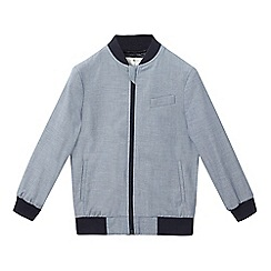 J by Jasper Conran - Boys' navy bomber jacket