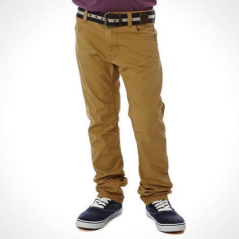 J by Jasper Conran - Designer boy+s natural twisted chino trousers