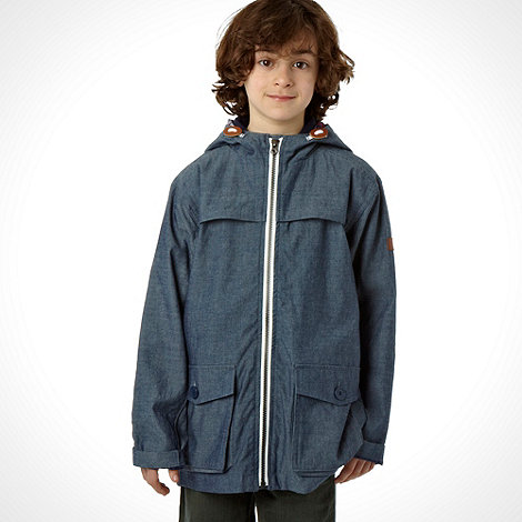 J by Jasper Conran - Designer boy+s blue chambray jacket
